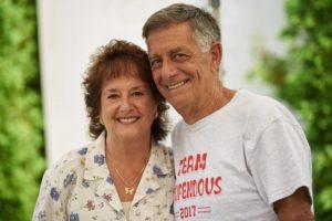 Jason's grandparents Tom and Diane - 2017